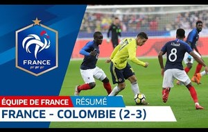 France - Colombie  2-3