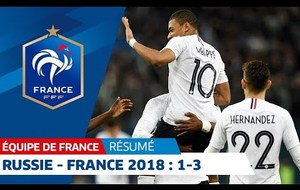 RUSSIE - FRANCE   (1-3)