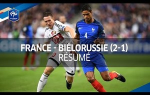 France - Biélorussie (2-1)